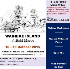 1 Flyer Wananga