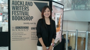 Sun Lyoung Kim at the Auckland Writers Festival 2016