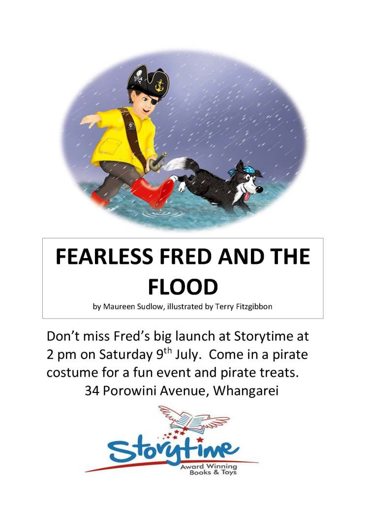 Fred launch poster
