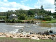 Kerikeri Stone Store and River